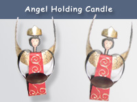 Angel Holding Candle